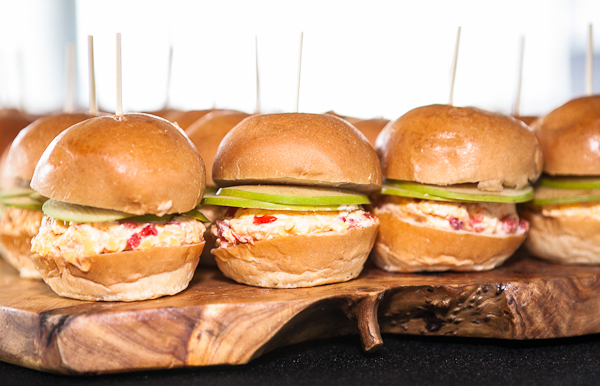Pimiento and Apple Sliders